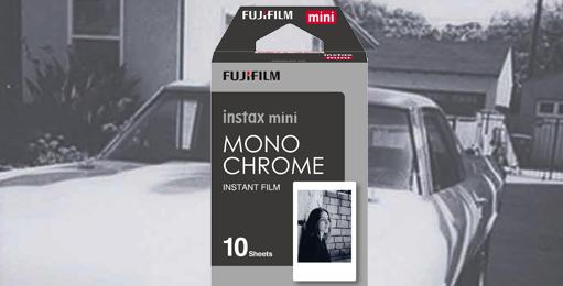 Fujifilm Ennis Instax Film Monochrome