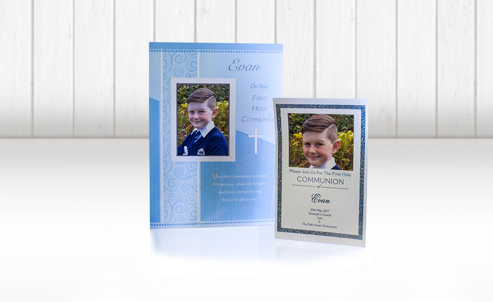 Fujifilm Ennis Communion cards