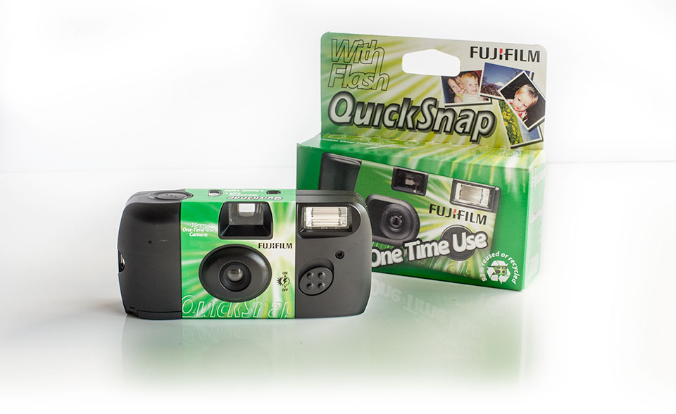 Fujifilm Ennis Disposable cameras