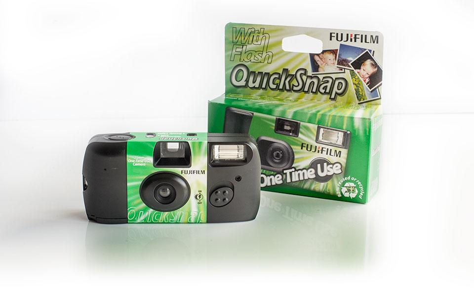 Fujifilm Ennis Disposable cameras