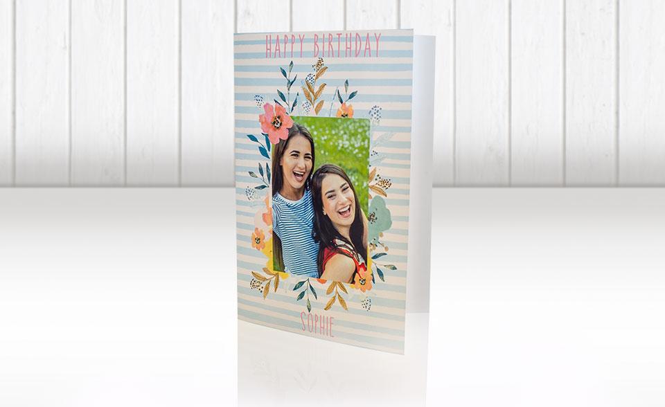 Fujifilm Ennis Personalised Birthday Cards