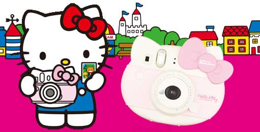 Fujifilm Ennis Hello Kitty is now an instax mini