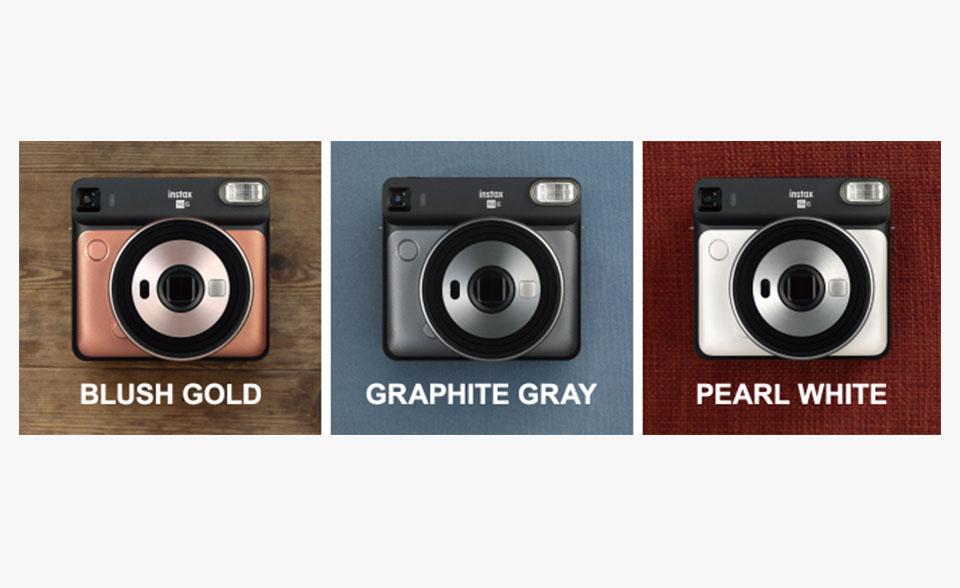 Fujifilm Ennis Fuji Instax square sq6 polaroid camera style
