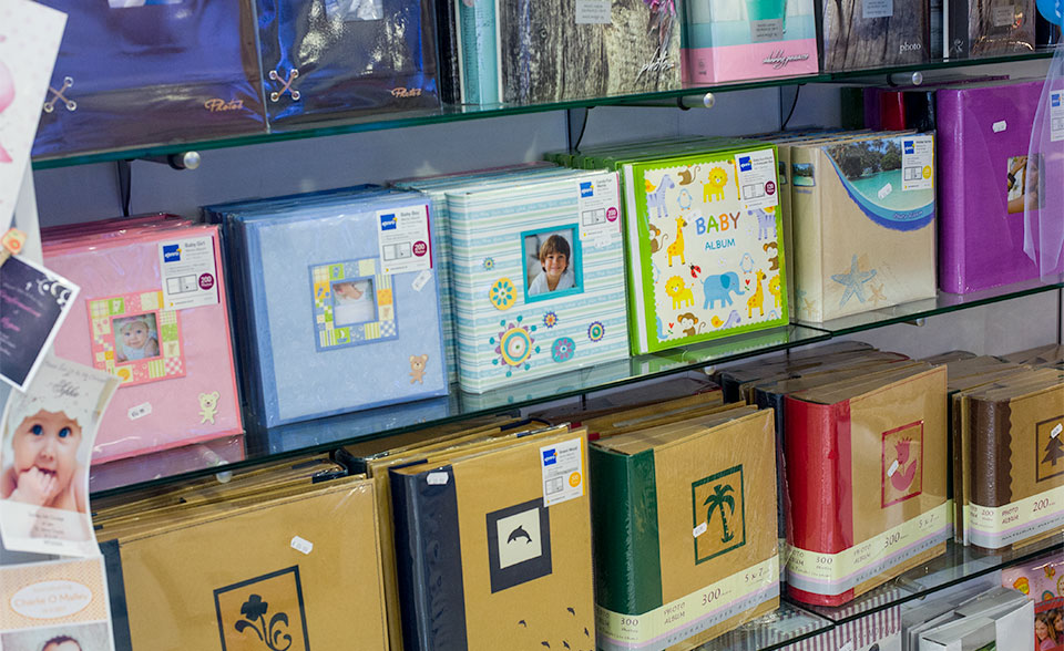 Photo albums in clare Fujifilm